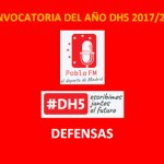 Convocatoria DH5 2017/2018: Defensas