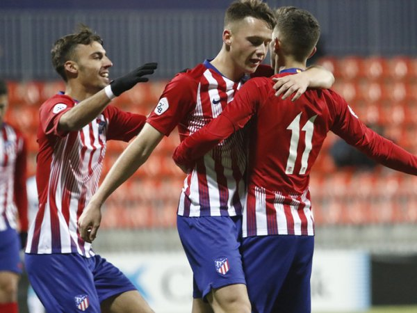 El Atleti B continúa intratable y se mete en playoffs